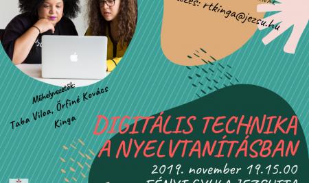 Műhelymunka – Digitális technika a nyelvtanításban